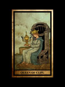 カップ(聖杯)のクイーン(女王)