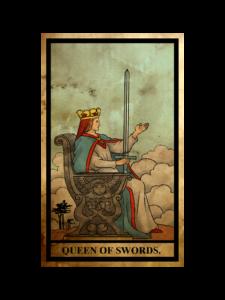 ソード(剣)のクイーン(女王)