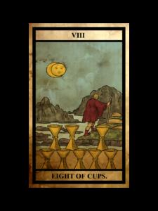 カップ(聖杯)の8