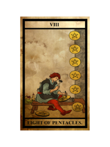 ペンタクルス(金貨)の8