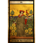 ペンタクルス(金貨)の9