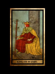 ワンド(こん棒)のキング(王)