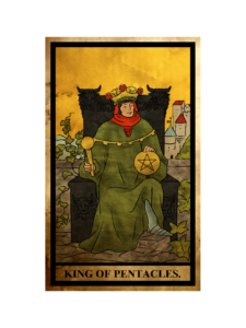 ペンタクルス(金貨)のキング(王)