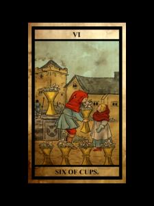 カップ(聖杯)の6