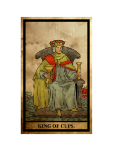 カップ(聖杯)のキング(王)