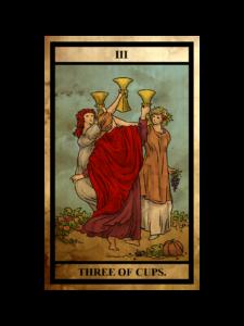 カップ(聖杯)の3