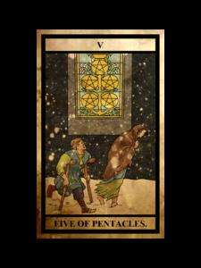 ペンタクルス(金貨)の5