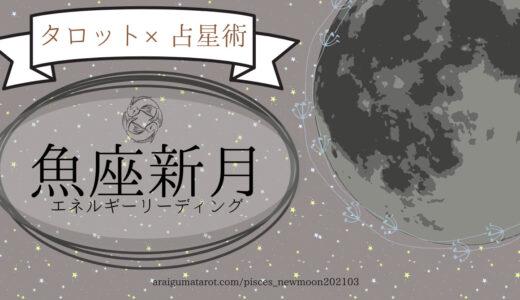 魚座新月のエネルギーについてホロスコープ+タロットカードで細密にリーディングしてみた – YouTube動画更新のお知らせ